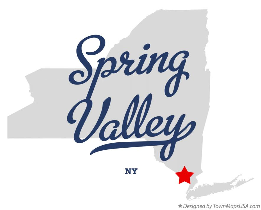 Map of Spring Valley New York NY