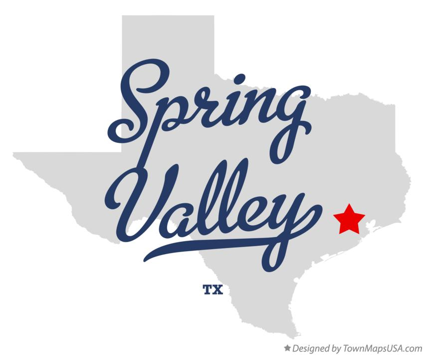 Map of Spring Valley Texas TX
