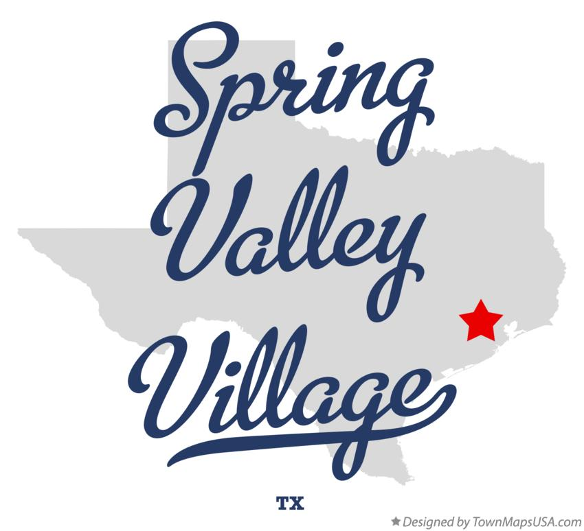 Map of Spring Valley Village Texas TX