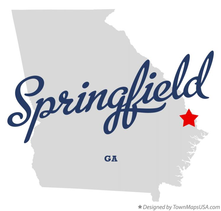 Austell Georgia Map Map of Springfield Georgia ga