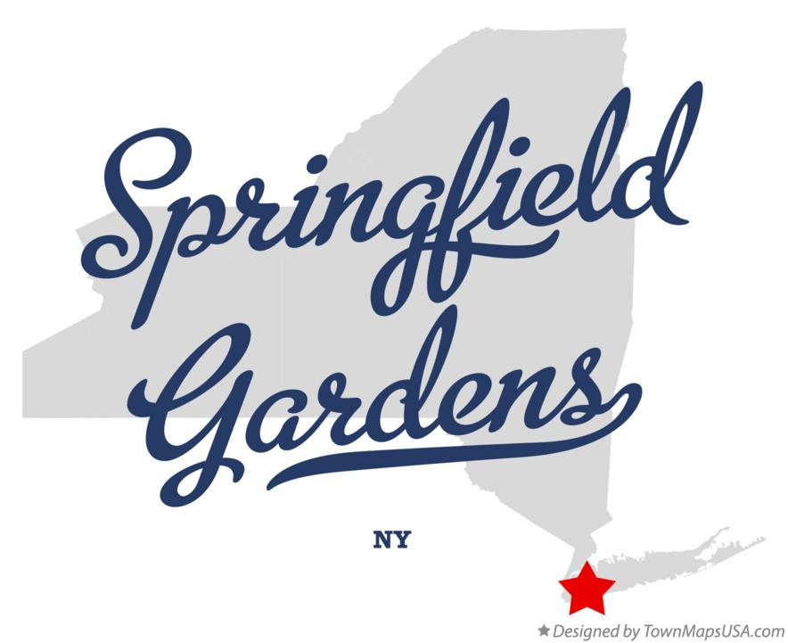 Map of Springfield Gardens New York NY