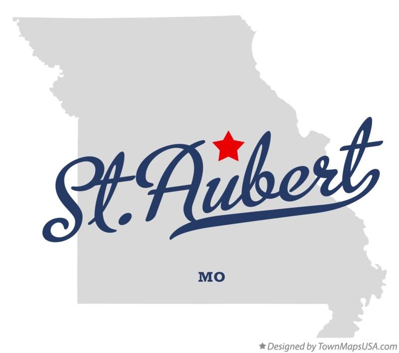 Map of St.Aubert Missouri MO