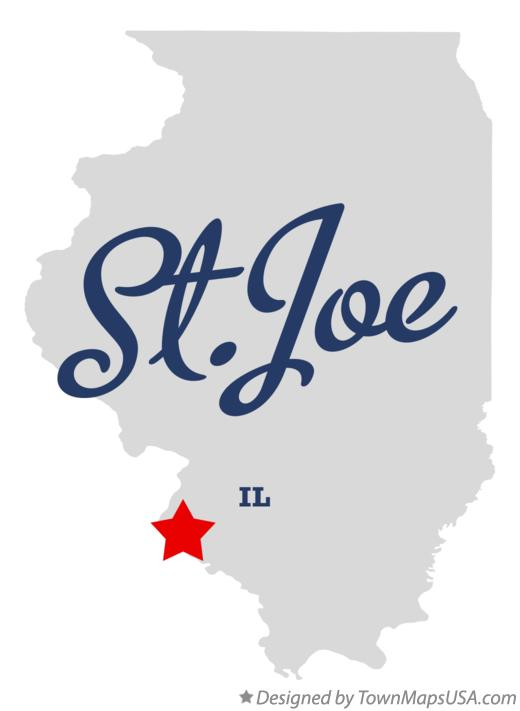 Map of St.Joe Illinois IL
