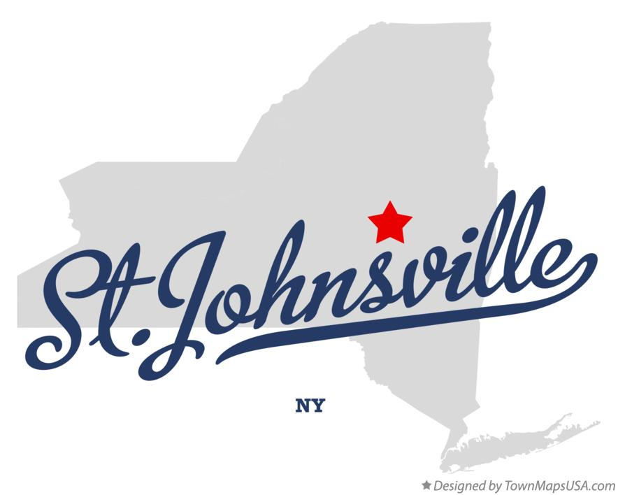 Map of St.Johnsville New York NY