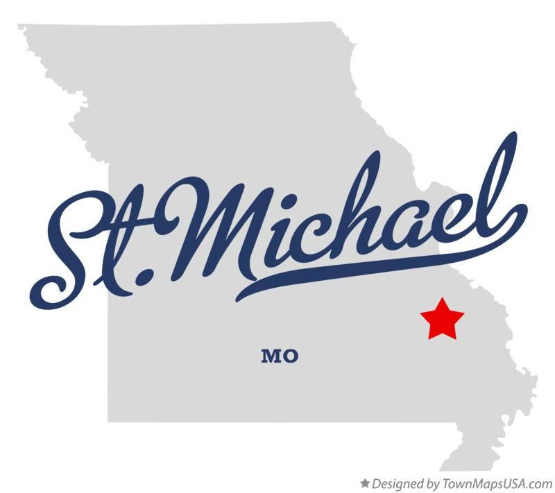 Map of St.Michael Missouri MO