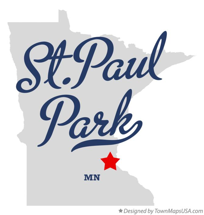 Map of St.Paul Park Minnesota MN