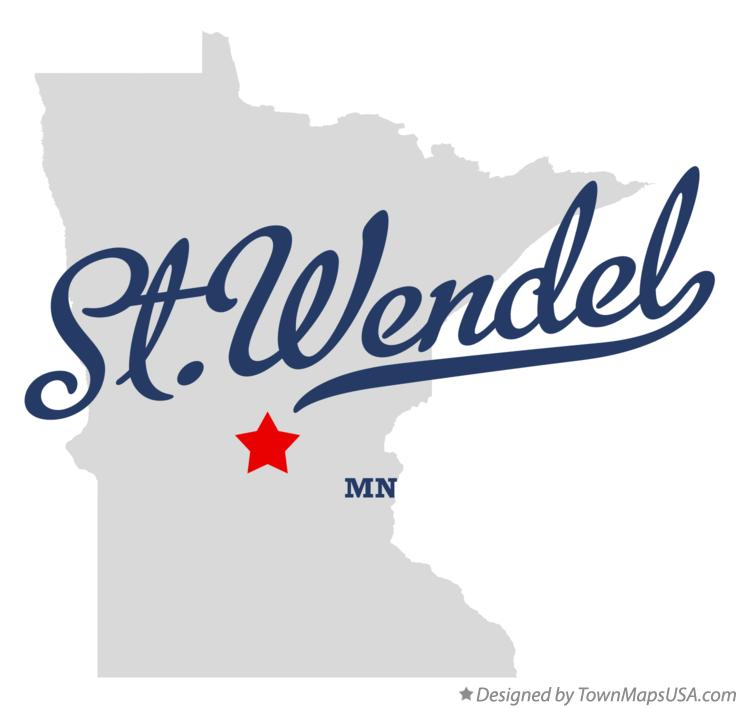 Map of St.Wendel Minnesota MN