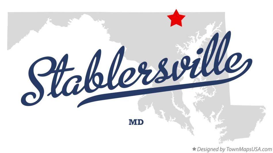 Map of Stablersville Maryland MD