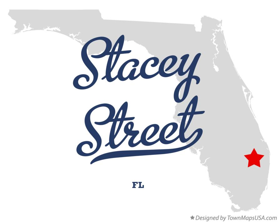 Map of Stacey Street Florida FL