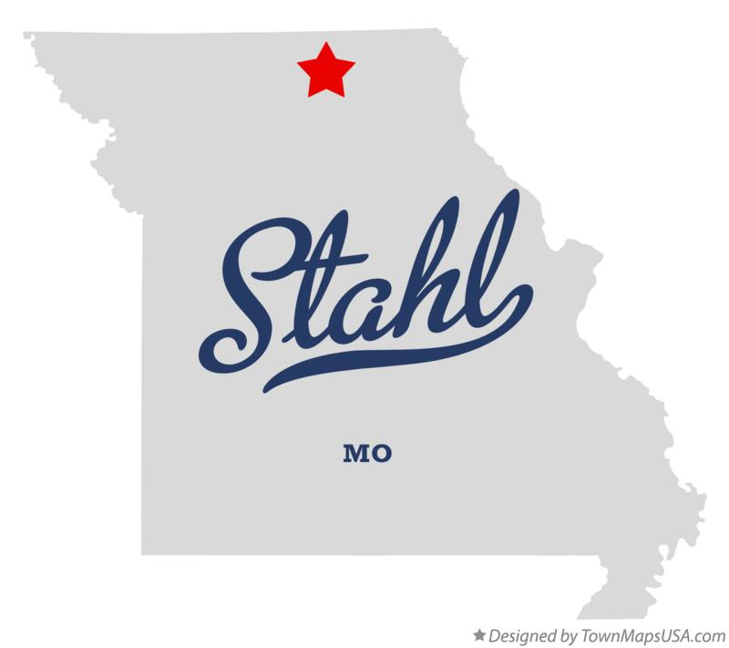 Map of Stahl Missouri MO