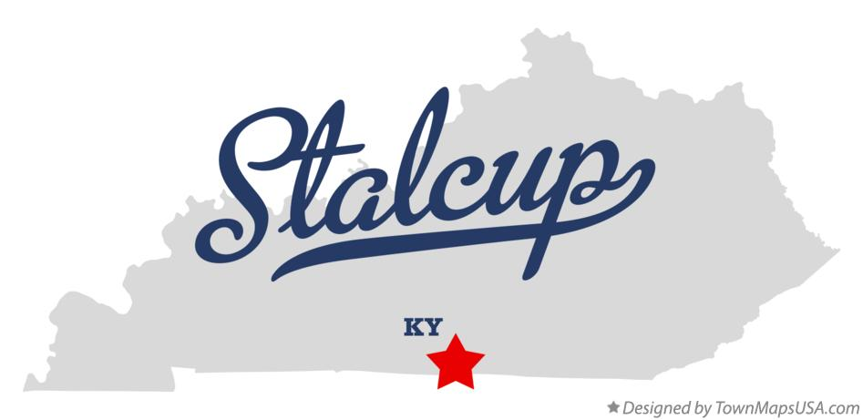 Map of Stalcup Kentucky KY