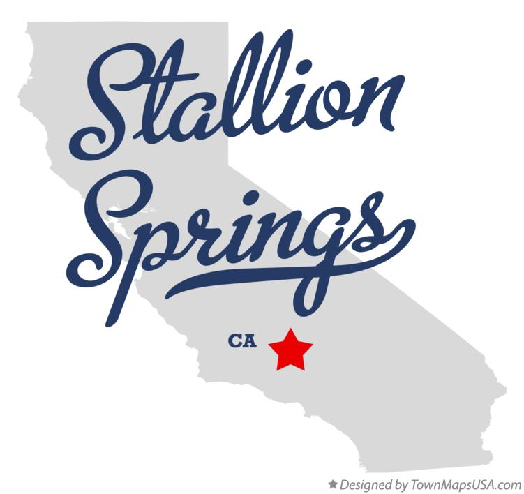 Map of Stallion Springs California CA