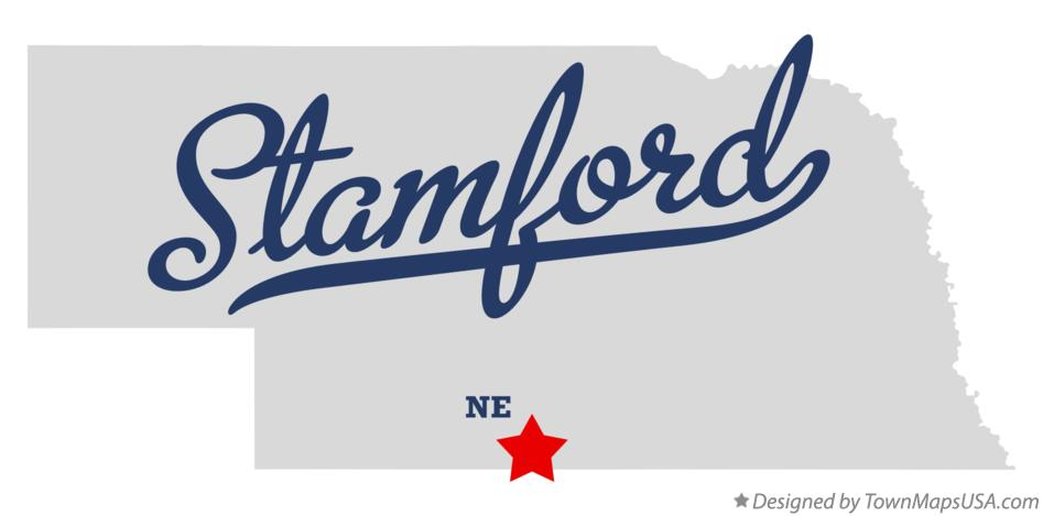 Map of Stamford Nebraska NE