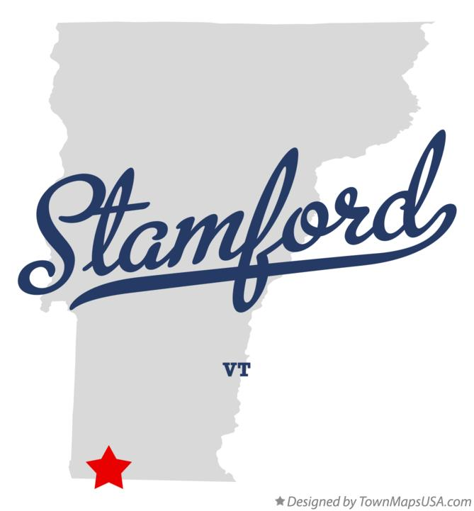 Map of Stamford Vermont VT