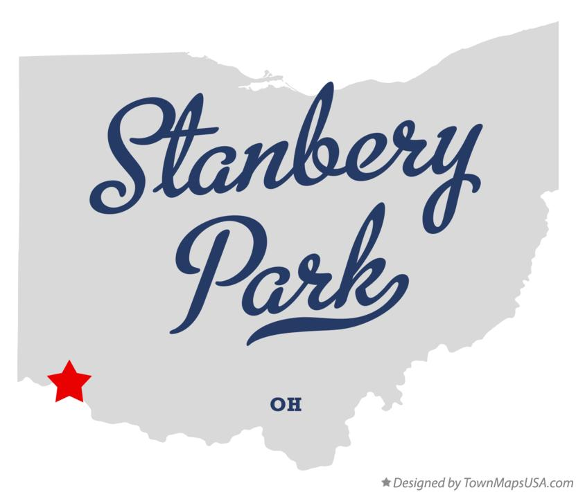 Map of Stanbery Park Ohio OH