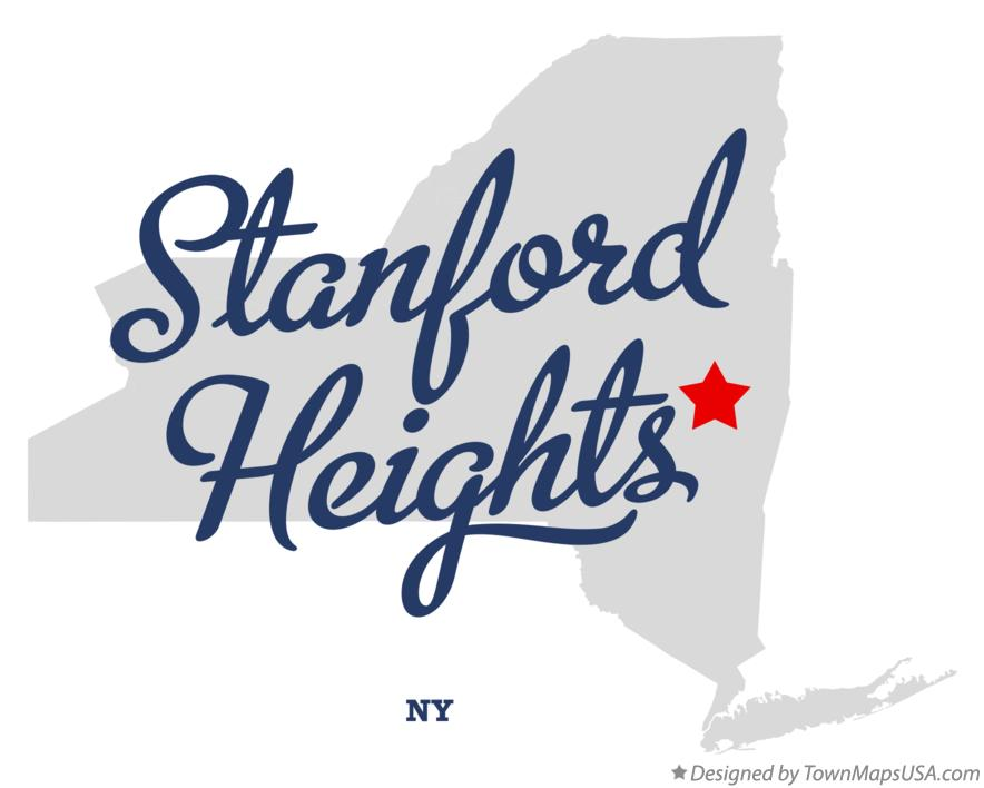 Map of Stanford Heights New York NY