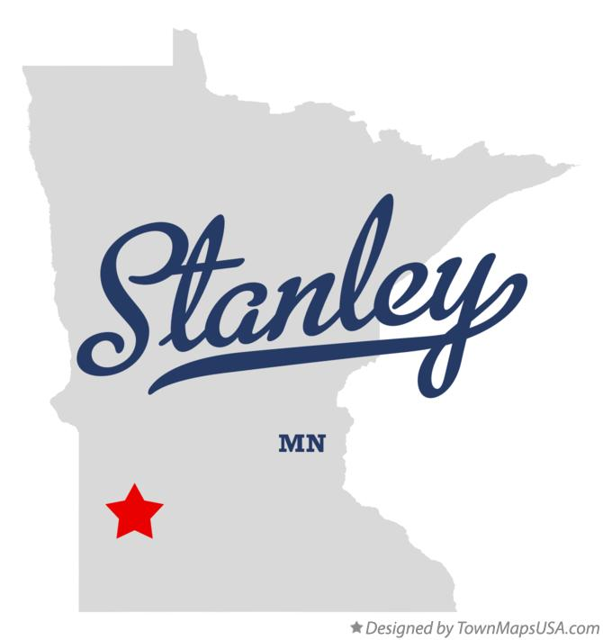 Map of Stanley Minnesota MN