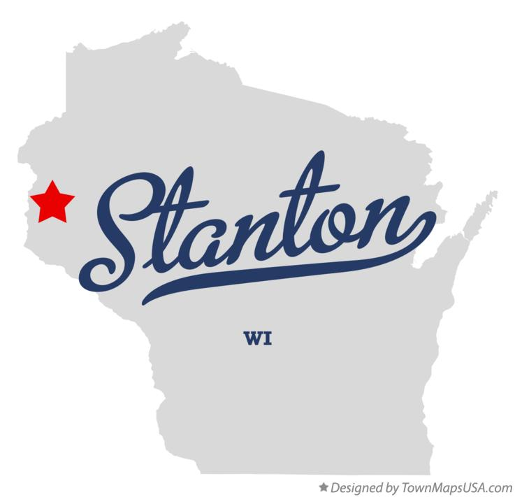 Map of Stanton Wisconsin WI