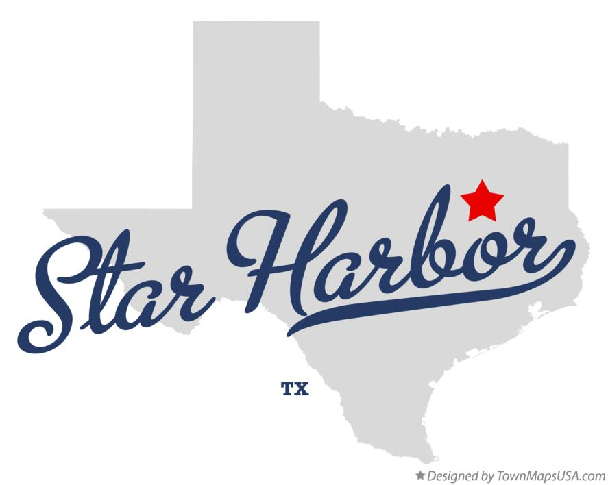 Map of Star Harbor Texas TX