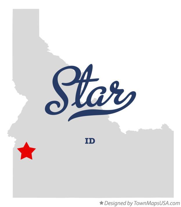 Map Of Star Id Idaho