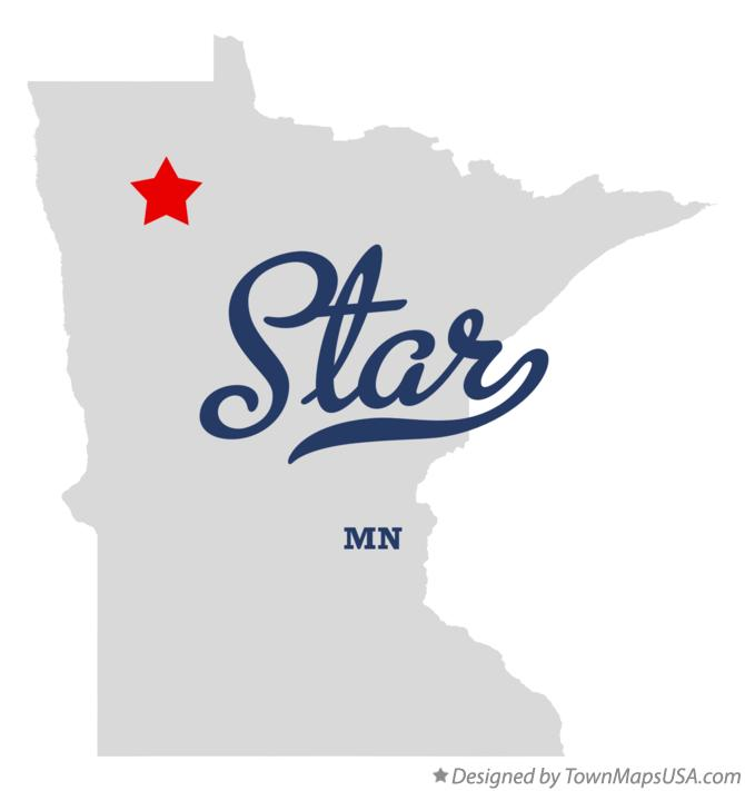 Map of Star Minnesota MN