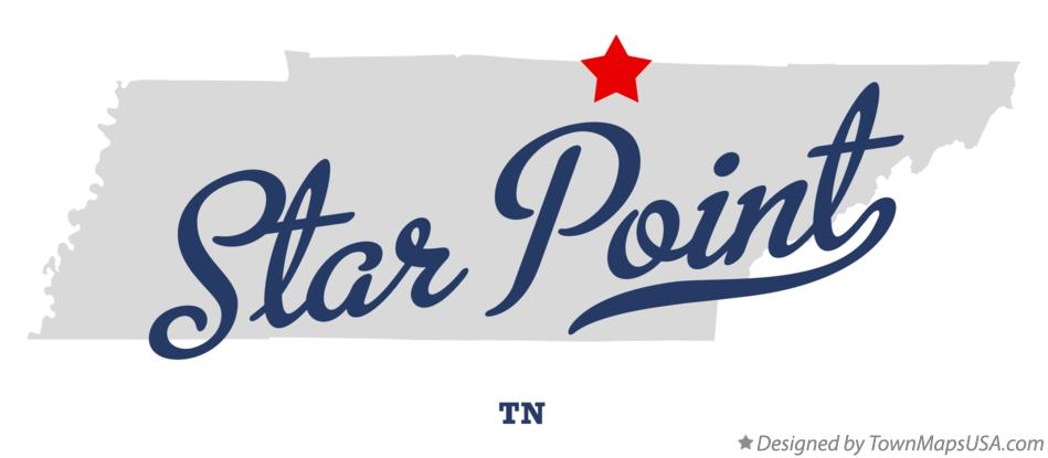Map of Star Point Tennessee TN
