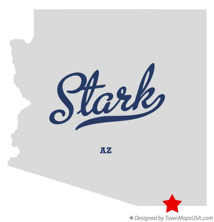 Map of Stark Arizona AZ