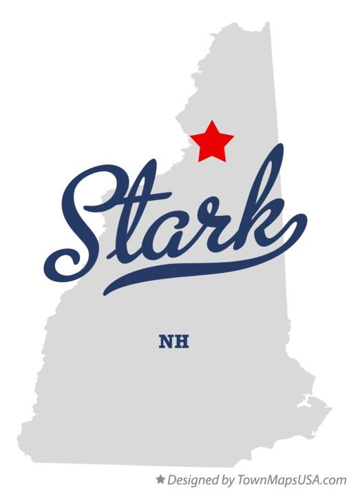 Map of Stark New Hampshire NH