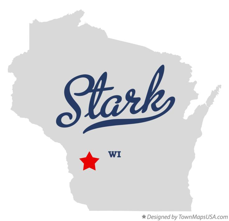 Map of Stark Wisconsin WI