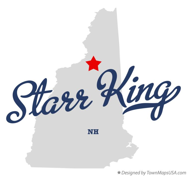 Map of Starr King New Hampshire NH