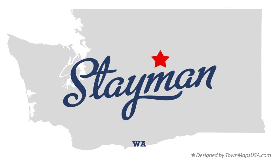 Map of Stayman Washington WA
