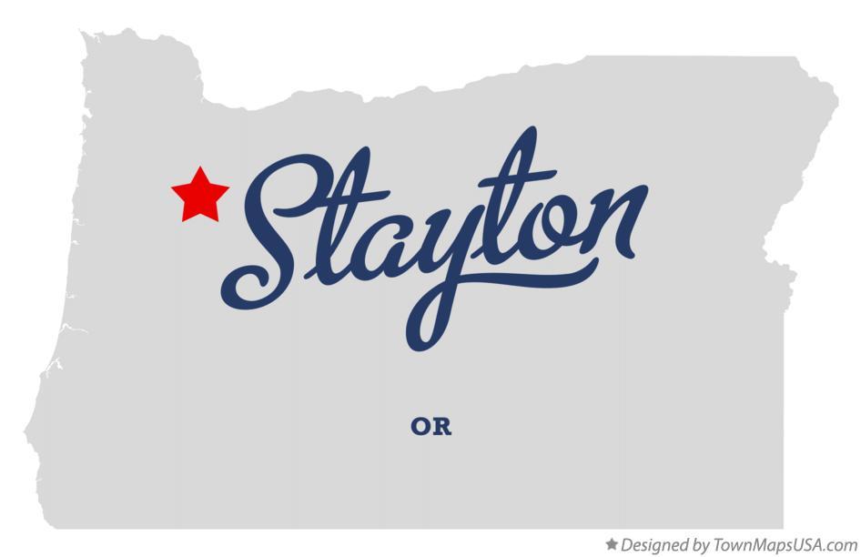map of stayton oregon Map Of Stayton Or Oregon map of stayton oregon