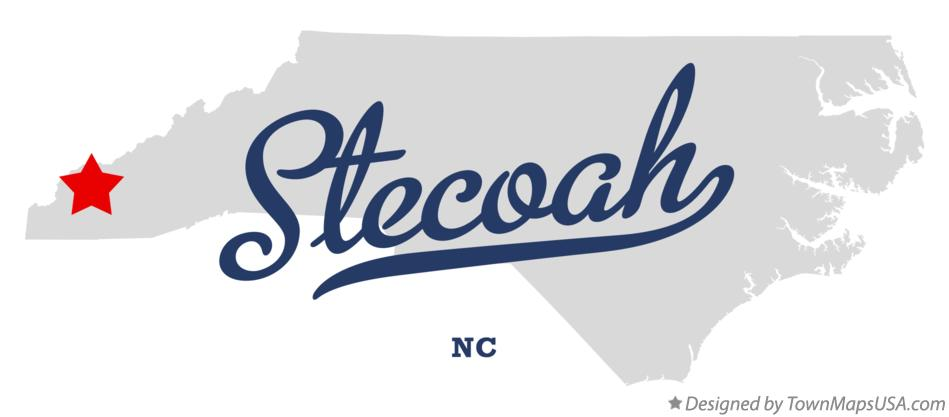 Map of Stecoah North Carolina NC