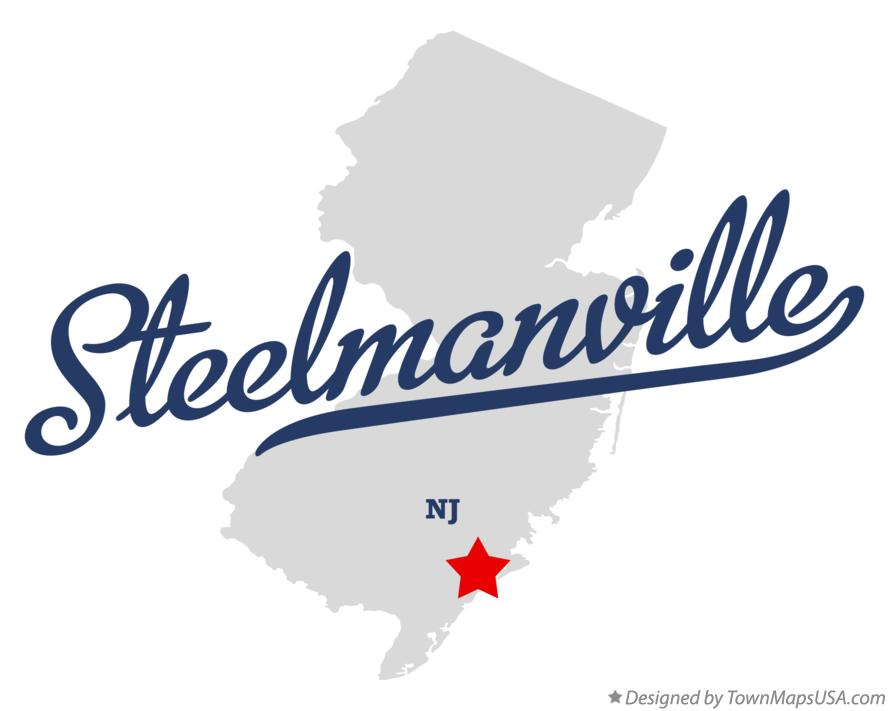 Map of Steelmanville New Jersey NJ