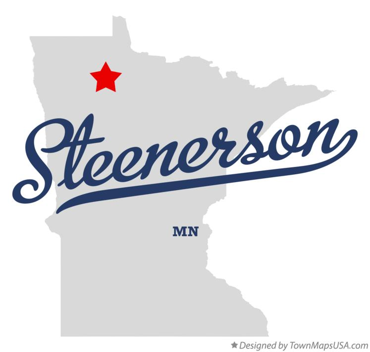 Map of Steenerson Minnesota MN