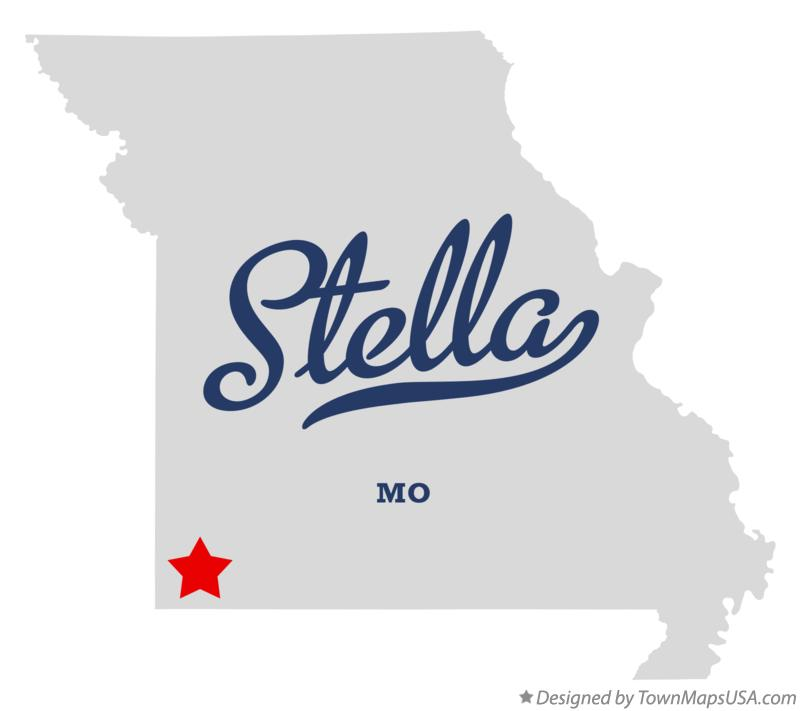 Map of Stella Missouri MO