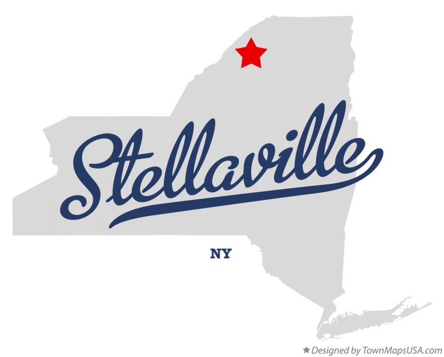 Map of Stellaville New York NY