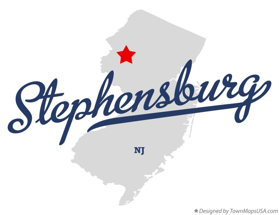 Map of Stephensburg New Jersey NJ