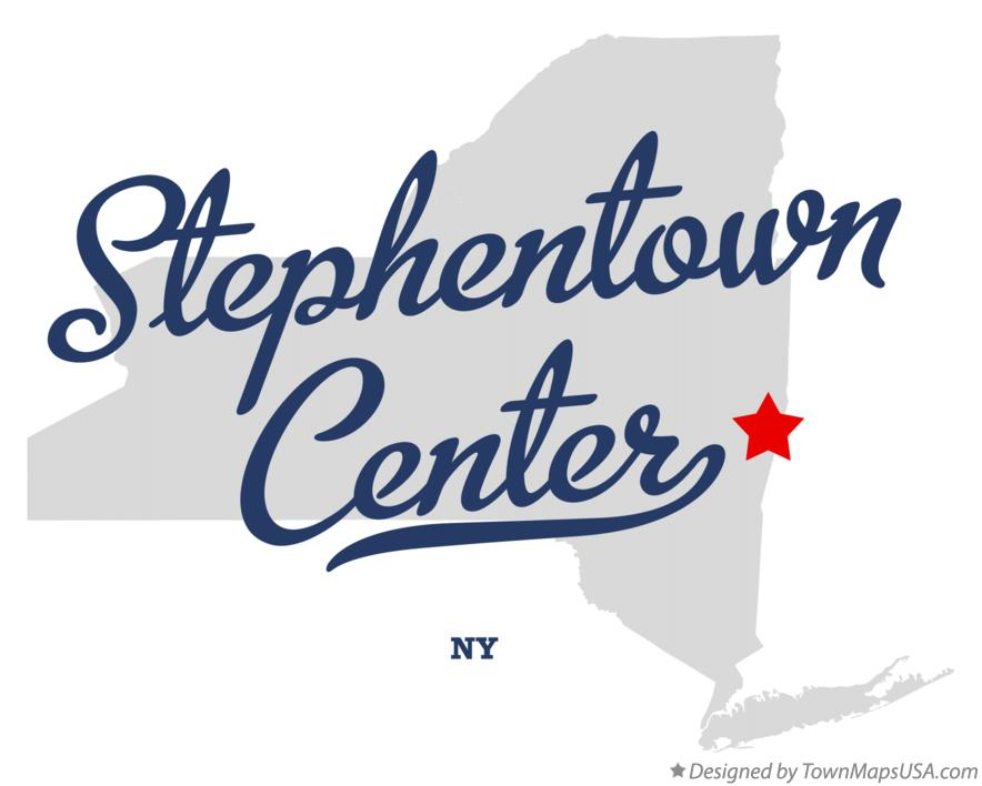Map of Stephentown Center New York NY