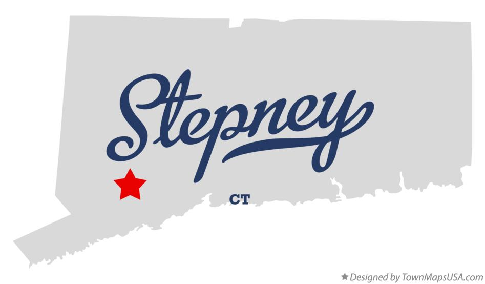 Map of Stepney Connecticut CT