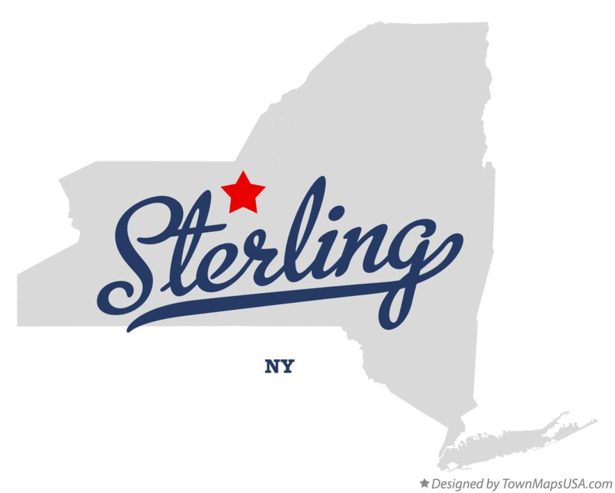 Map of Sterling New York NY