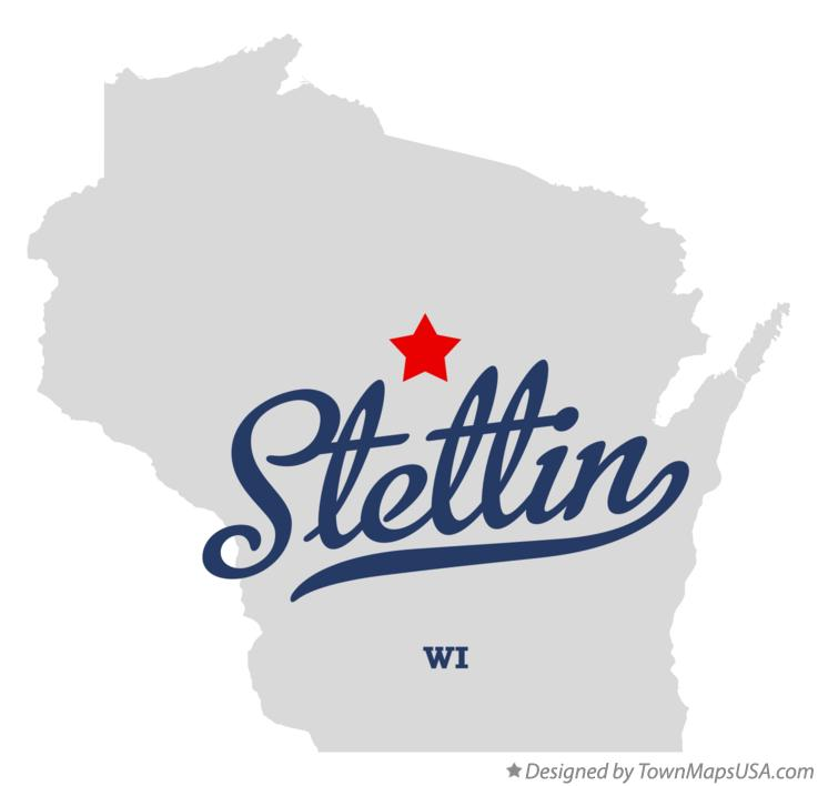 Map of Stettin Wisconsin WI