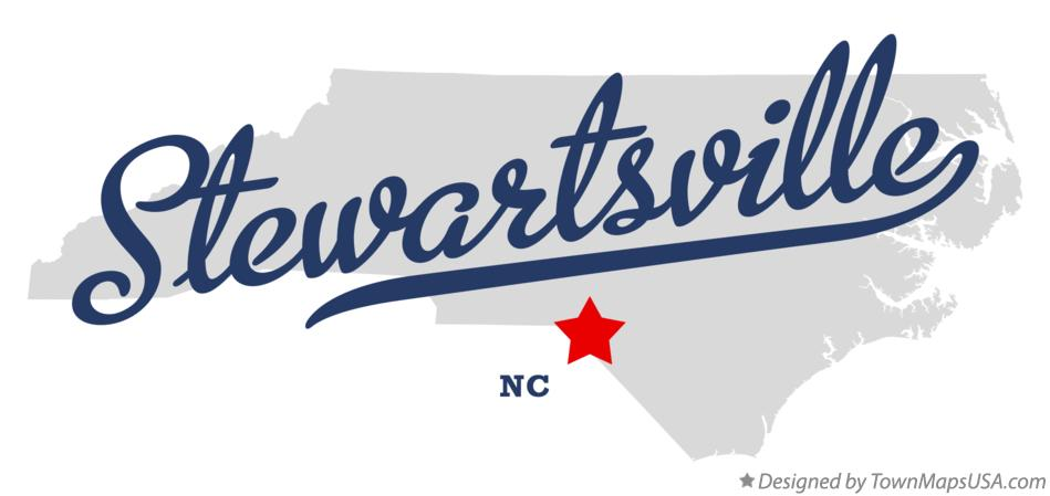 Map of Stewartsville North Carolina NC