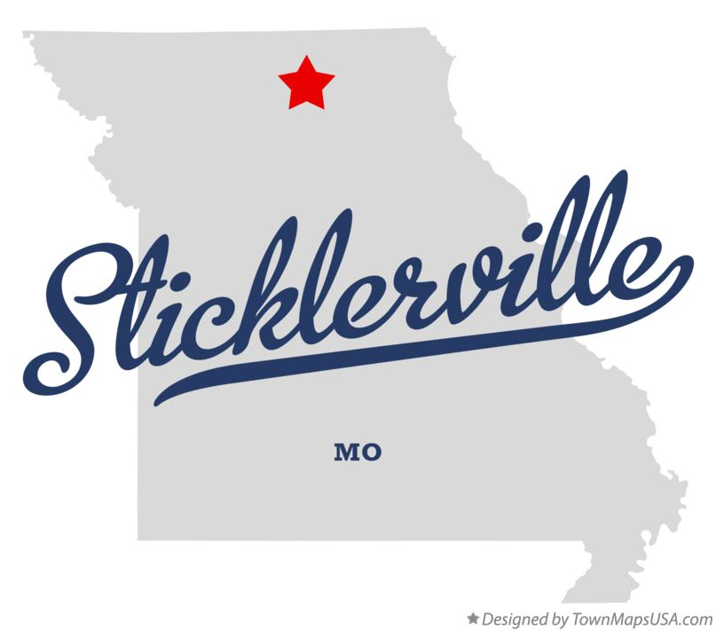 Map of Sticklerville Missouri MO
