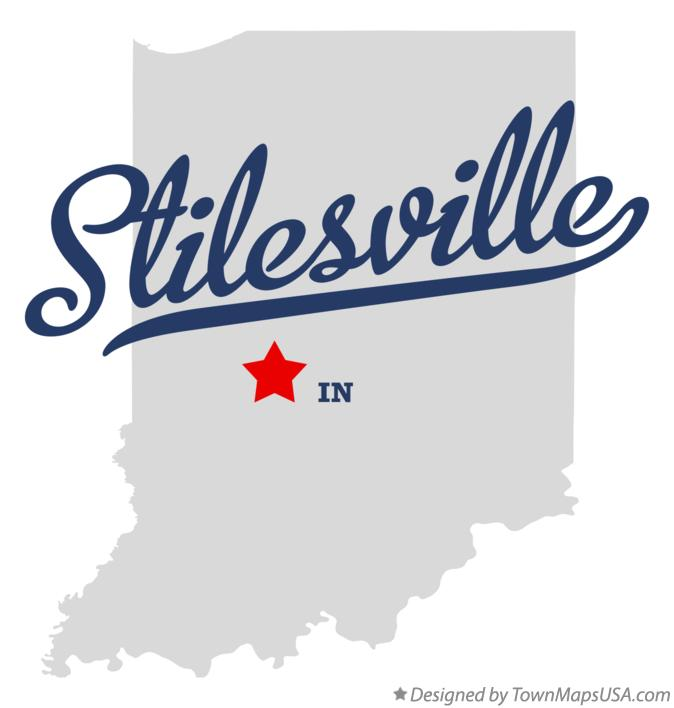 Map of Stilesville Indiana IN