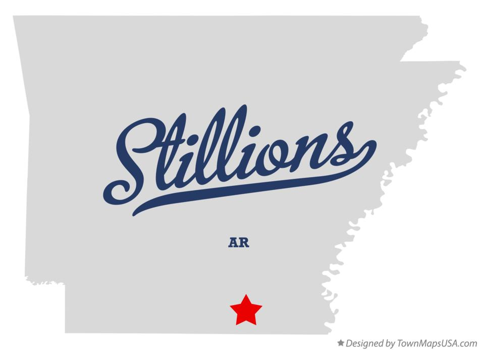 Map of Stillions Arkansas AR