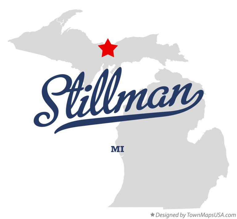 Map of Stillman Michigan MI
