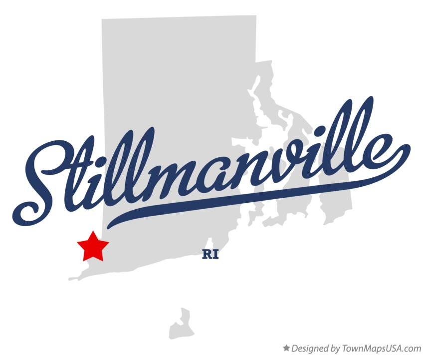 Map of Stillmanville Rhode Island RI