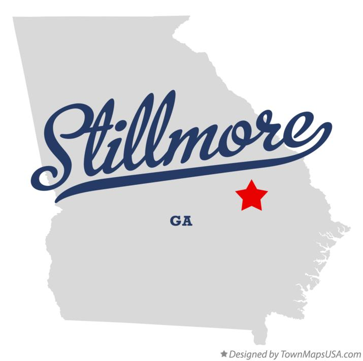Map of Stillmore Georgia GA