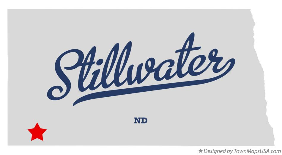 Map of Stillwater North Dakota ND